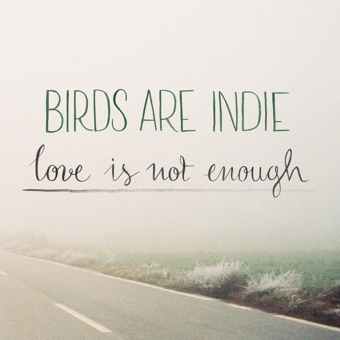 el bl ster p ldoras culturales love is not enough de birds are indie. Black Bedroom Furniture Sets. Home Design Ideas